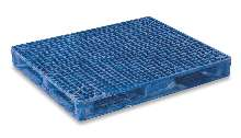 Plastic Pallet meets FM fire rating requirements.
