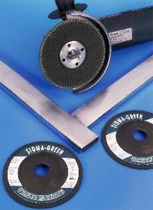 Abrasive Grinding Wheels enable controlled grinding action.