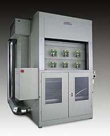 Conveyorized Coater/Dryer offers speeds up to 20 ipm.