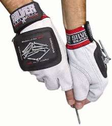 Magnetic Powered Gloves help eliminate lost parts.