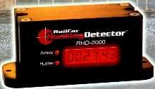 Recorder identifies severe railcar hunting.