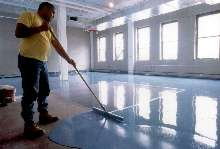 Epoxy Floor Resurfacer is impervious to dirt and bacteria.