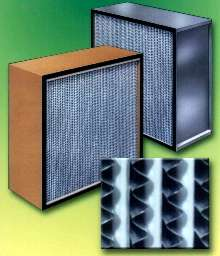 HEPA and ULPA Filters meet stringent air purity requirements.
