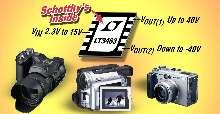 DC/DC Converter offers integrated Schottkys in 3 x 3 mm DFN.