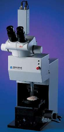 Micromachining System offers submicron positioning.
