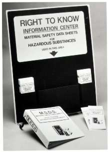 Information Station displays OSHA-required information.