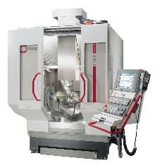 Machining Center allows 5-axis/5-sided machining.