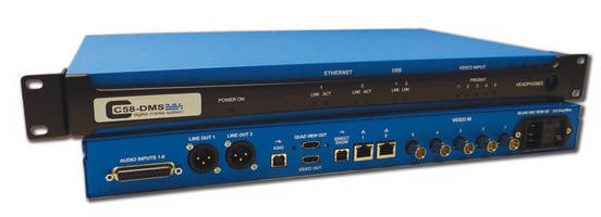 PESA C58-DMS Streaming Distribution System Earns 'SALUTE' at GV Expo 2012