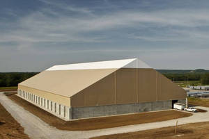 ODOT Doubles Roadway Salt Storage Capacity with Large Fabric Structure from Legacy Building Solutions