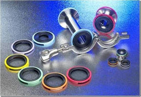 Integra Companies' ColorGrip® Gasket Rings are Made of Solvay's Radel® PPSU for Biopharma Processing