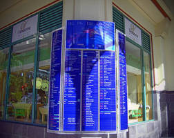 "Vista System's Elegant Directory Signs Were Recently Installed at ""LE CAUDAN Water Front Mall"" Located in Port Louis, Mauritius"