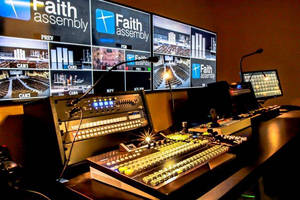 Faith Assembly of God Installs For-A's HVS-350HS Video Switcher as Central Video Production Hub of New Campus