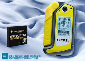PIEPS Chooses Energy Micro Gecko MCU for Use in Market's First GPS Avalanche Monitor