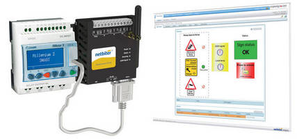 Crouzet and HMS Present Joint Solution for Monitoring the Millenium 3 Logic Controller over the Web
