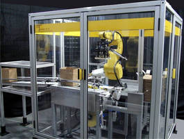 New Ultra Compact TaskMate® Robotic Case Erector / Loader with Track & Trace at Interphex NY 2013