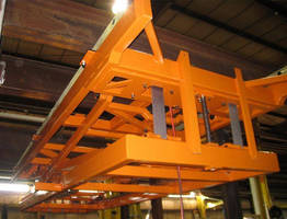 Handling Specialty Manufacturing's Inverted Electromechanical Belt Lifts