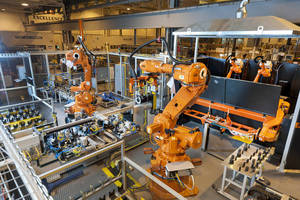 "ABB Robotics Flexible Tube Press and Weld System Wins Ford Global Powertrain Excellence ""2012 Top Award"""