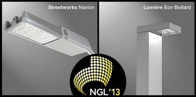 Cooper Lighting LED Products Recognized in Next Generation Luminaires(TM) Outdoor Solid-State Lighting Design Competition