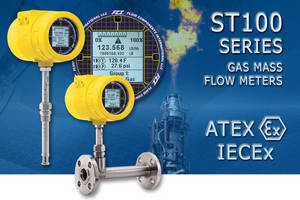 ST100Flow Meter Receives ATEX & IECEx Approvals