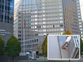 NLB Surface Prep Equipment Helps BNY Mellon Center Earn Project of the Year Award