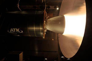 ATK Successfully Ground Tests New CASTOR 30XL Upper Stage Solid Rocket Motor