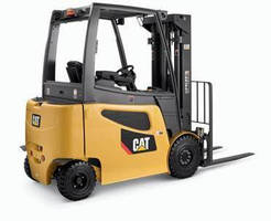 Cat Lift Trucks Receives Bronze 'Product of the Year' Award for New Electric Pneumatic Tire Lift Truck Series