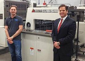 M13 Graphics Adds Mitsubishi Diamond 3000LX Sheetfed Press