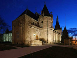 Lithonia Lighting LED Floodlights from Acuity Brands Illuminate 115-Year-Old Castle