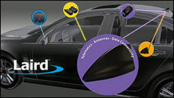 Interactive Vehicle Display to Highlight Laird Technologies' Solutions for Automotive Market at Telematics Detroit 2013