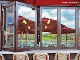 Kolbe's Ultra Series Folding Windows Displayed at AIA, Ideal for Restaurants, Retailers, Residences