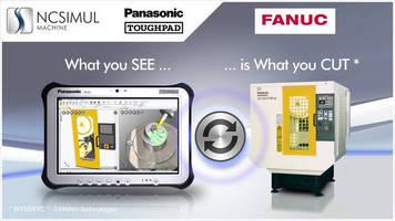 EMO 2013 : NCSIMUL, Panasonic's Toughpad, and FANUC Set New Machining Standards