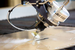 Jet Edge Introducing New 5-Axis Water Jet Cutting System at FABTECH