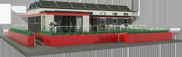 Crystal Windows Brighten Solar Decathlon House