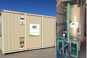 Purestream Services Deploys IGF Portable Water Treatment System in Oklahoma to Treat Oil and Gas Waste Water for Re-Use