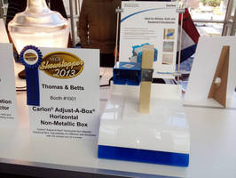 Carlon® Horizontal Adjust-A-Box® Wins Showstopper Recognition at 2013 NECA Convention