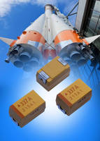 AVXS Low ESR Tantalum Chip Capacitor Series Receives Full European Space Agency QPL Qualification Approval