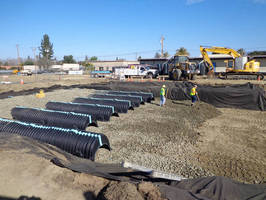 School's New Stormwater System Drains by Gravity Using CULTEC Chambers