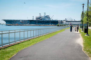 Installation of Hollaender's® Speed-Rail® Handrail System Allows Public Access to Philadelphia Navy Yard