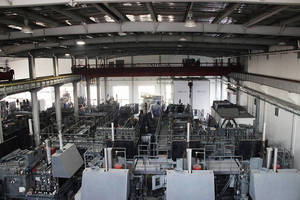 Multiple Atmosphere Furnaces in Process at Ipsen China
