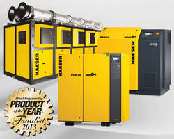 Kaeser is a Finalist for Plant Engineering's 2013 Product of the Year