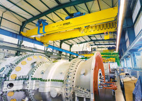 Demag Cranes for Gas Turbine Technologies in St. Petersburg