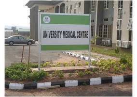 Vista System's Expand Single Sided Post and Panel Sign was Recently Installed at Landmark University, Located in Omu Aran, Kwara State, Nigeria