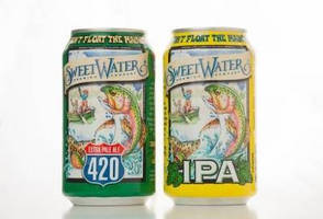 SweetWater Brewing Company Releases Two Popular Beers in Cans from Ball