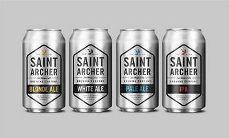 Saint Archer Brewing Co. Releases Best Selling Beers in Cans from Ball