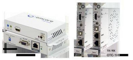 Opticomm-EMCORE to Demonstrate CATx/HDBaseT Extenders at InfoComm 2014