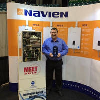 Navien Combination Boiler (NCB) Series Wins Innovation Award