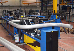 Powerful All-Electric Pipe Bending Machine Boosts Manufacturing Throughput and Accuracy of Large-Bore Hydraulic Parts