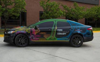 Ford Fusion Rear Window in Lightweight Concept Version Loses 35 Percent of Its Weight with Polycarbonate Solution from SABIC