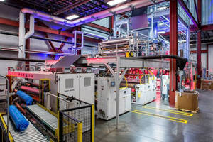 Davis-Standard Seven-Layer Line Excels in Lightweight Film Production