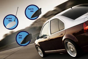 Laird Antennas Enable Connected Car and Enhance Driving Experience